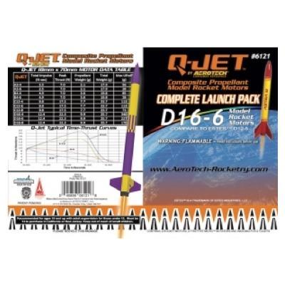 D16-6 Q-Jet Model Rocket Engine