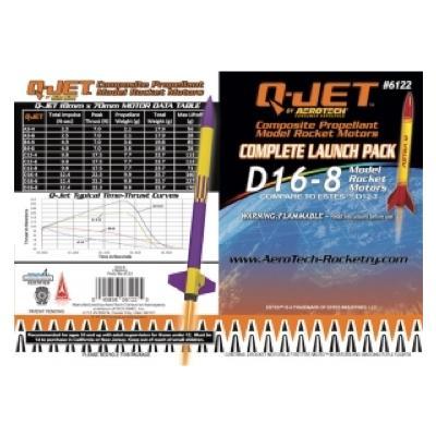 D16-8 Q-Jet Model Rocket Engine